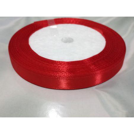 סרט סאטן בצבע אדום - רוחב 2 סמ