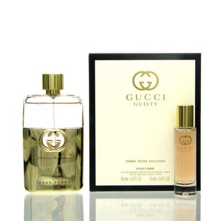 בושם לאשה גוצ'י גילטי סט Gucci Guilty (W) EDP 90 + 0.15 ML Gift Set