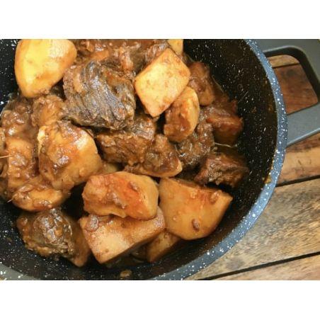 גולאש מעושן של בשר ותפוחי אדמה - ליטר