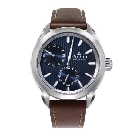 ALPINER REGULATOR AUTOMATIC DARK BLUE BROWN