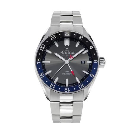 ALPINER QUARTZ GMT DARK GREY / BRACELET