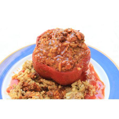 פלפל ממולא בשר
