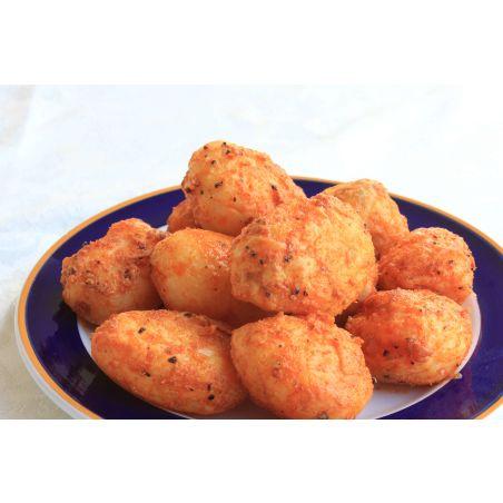 תפוחי אדמה אפויים בשמן זית ופפריקה