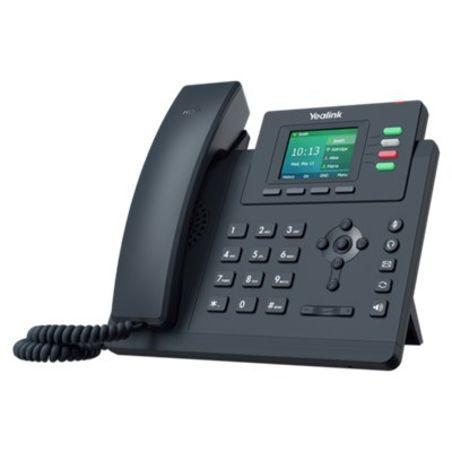 טלפון משרדי ארבע קווי Yealink T33G IP