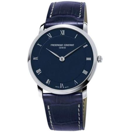 Frederique Constant Slimline Quartz Blue Dial Watch FC-200RN5S36