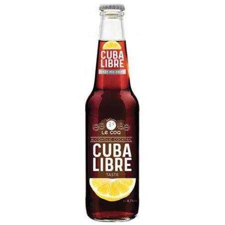 לה קוק - קוקטייל מוגז בטעם קובה ליברה - 3 יחידות