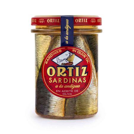 אורטיז - סרדינים בשמן זית 190 גרם