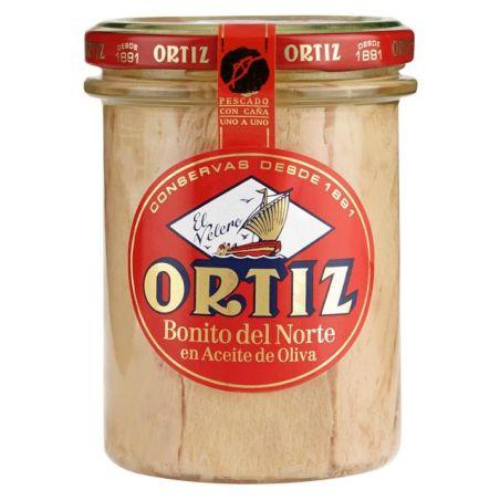 אורטיז - נתחי טונה לבנה מובחרים בשמן זית 220 גרם