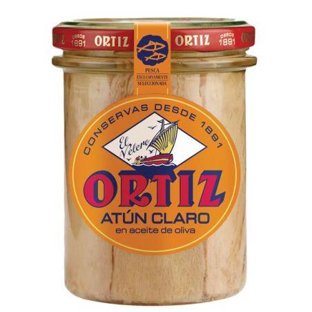 אורטיז - נתחי טונה בהירה מובחרים בשמן זית 220 גרם