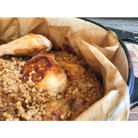 חמין עוף ופתיתים - 2 כרעיים + ליטר פתיתים