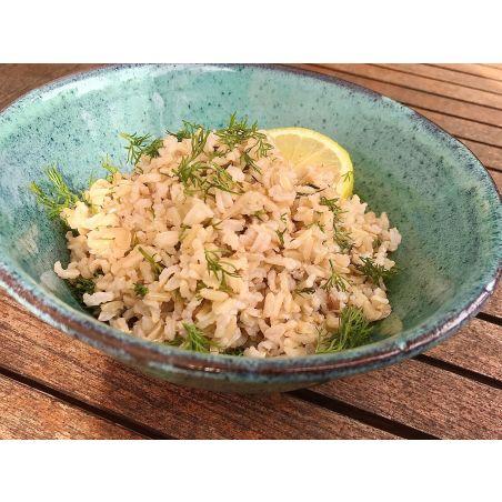 אורז מלא עם לימון ושמיר - ליטר