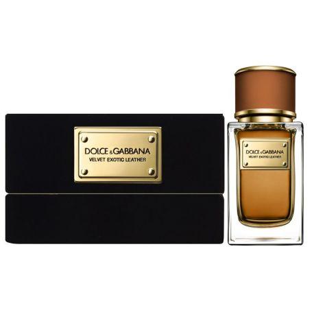 בושם יוניסקס דולצ'ה וגבאנה וולווט Dolce Gabbana Velvet Exotic Leather EDP 50 ML