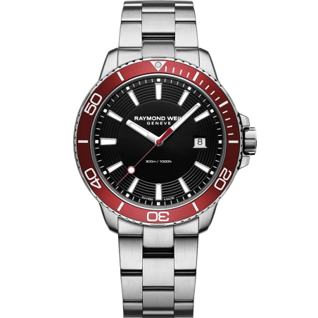 Tango 300 Men's Quartz Red Diver 8260-ST4-20001