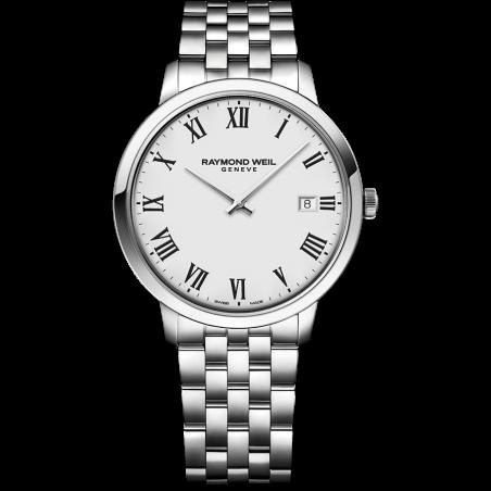 Toccata Men's Classic White Dial 5585-ST-00300