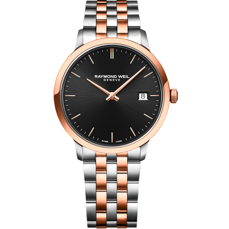 Toccata Men's Rose Gold Black 5485-SP5-20001