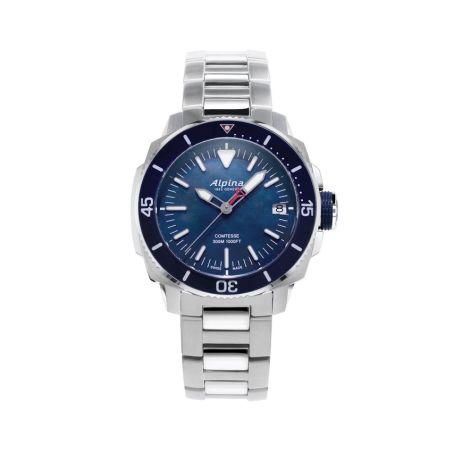 שעון Alpina Seastrong Diver Comtesse Navy
