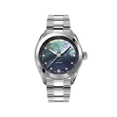 שעון Alpina Comtesse Black/Bracelet