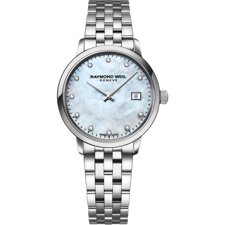 Toccata Ladies White Mother-of-Pearl Diamond 5985-ST-97081