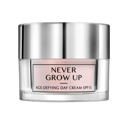 Soft Touch קרם יום להאטת סימני גיל מסדרת NEVER GROW UP ,לעור רגיל עד מעורב,50 מ