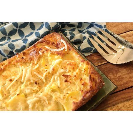 פשטידת תפוחי אדמה ופרמזן - תבנית בינונית