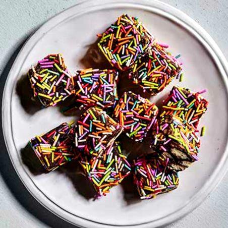 ריבועי שוקולד סוכריות