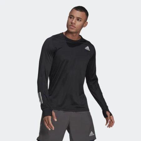 חולצת אדידס לגברים   Adidas Own The Run Long Sleeve Tee