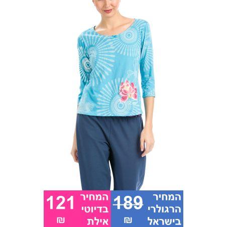 חולצת Purple Denim (חולצה בלבד)