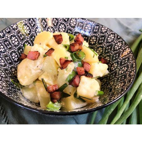 סלט תפוחי אדמה וקריספי בייקון - ליטר