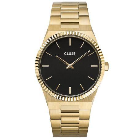CW0101503007  Vigoureux Steel Black, Gold Colour