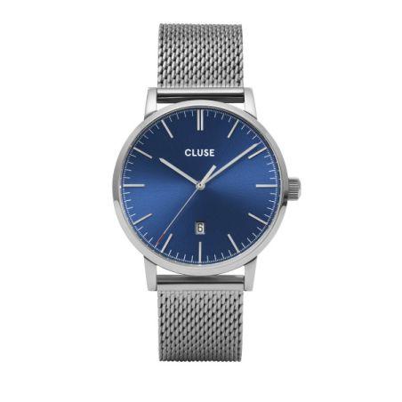 CW0101501004  Aravis Mesh Blue, Silver Colour