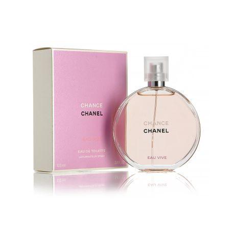בושם לאשה שאנל  צ'אנס או ויוו Chanel (W) Chance EAU VIVE EDT 100 ML