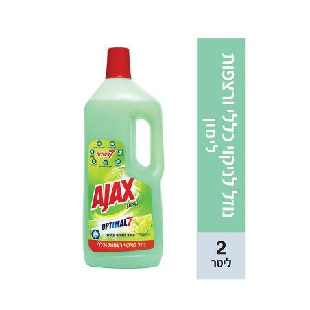 אג'קס ניקוי כללי עוצמת ה-7 בריח לימון 2 ליטר
