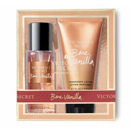 בושם לאשה סט ויקטוריה סיקרט בר ונילה Victoria's Secret Bare Vanilla Gift Set
