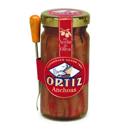 אורטיז - פילה אנשובי בשמן זית