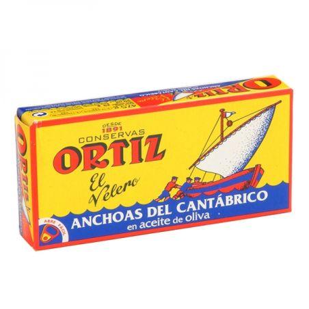 אורטיז - פילה אנשובי בשמן זית 47.5 גרם
