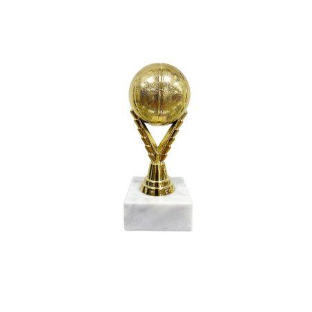 גביע כדור כדורסל מלא גובה 20 ס
