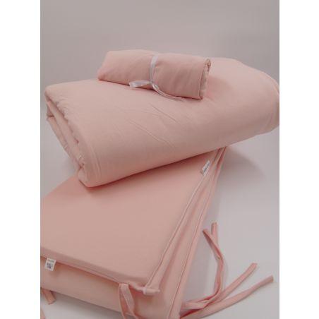 סט חורף מלא למיטת תינוק | NEW PINK BASIC