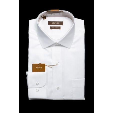 חולצה לבנה ילדים גזרה רגילה