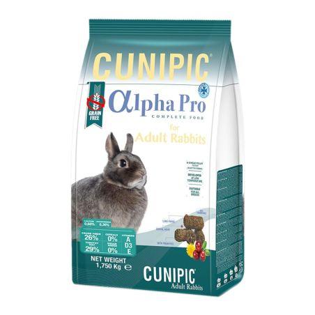 אלפא פרו מזון לארנבים בוגרים