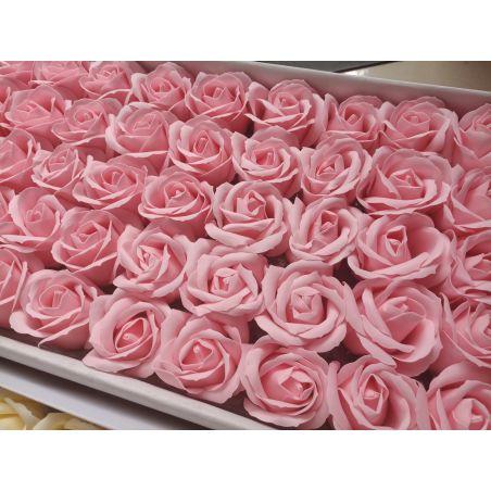 פרחים ורודים - 10 יחידות