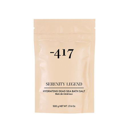 417- מלח אמבט מים המלח להזנה והרגעת העור 500 מ