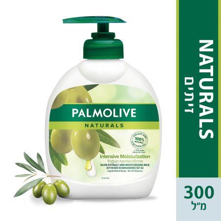 פלמוליב נטורלס סבון ידיים חלב זיתים  300 מ