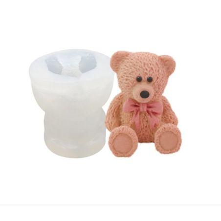 שבלונה מסיליקון ליצירת דובי בתלת מימד