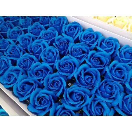 פרחים בצבע כחול - 10 יחידות