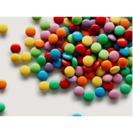 סוכריות מיני עדשים צבעוניות