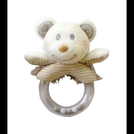רעשן טבעת - דובי יוניסקס