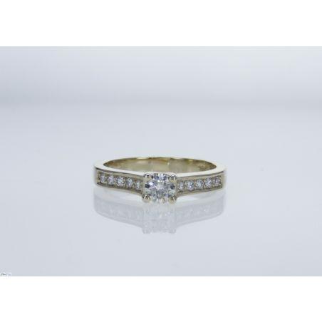 טבעת יהלום B1