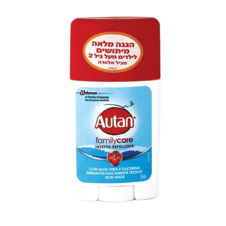Autan תכשיר הגנה מפני יתושים המכיל אלוורה -סטיק