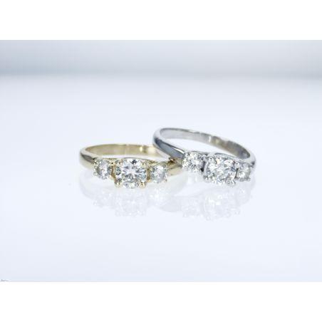 טבעת יהלום B19