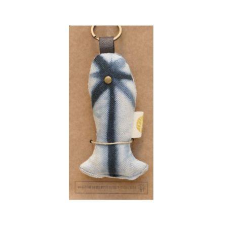 מחזיק מפתחות דג - עבודת יד מבית עמותת חירם